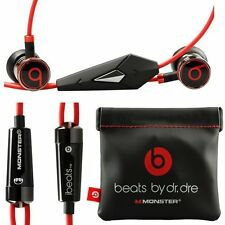Genuine Monster Beats by DrDre iBeats In Ear Headphones Earphone Black / White