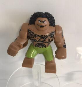 "LEGO large figure Maui from Disney Moana - Genuine - Lego Big Fig 3"""