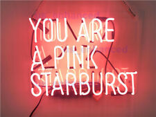 New You Are A Pink Starburst Wall Decor Light Lamp Neon Sign 14'' ship from USA