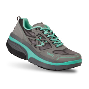 Gravity Defyer Women's GDEFY Ion Athletic Shoes Grey And Teal