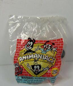 "1998 Wendy's Kids Meal  Animaniacs Wakko Eye Popper 3.5"" PVC Action Figure Toy"