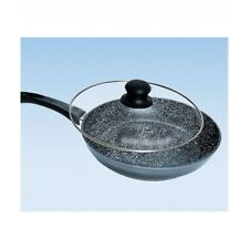 Stonewell Hard Stone Non-Stick Frying Pan With Glass Lid