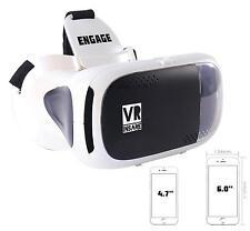 Vr Realidad Virtual Loco participar 3D auricular para el uso con los teléfonos inteligentes Android IOS