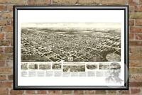 Old Map of Egg Harbor City, NJ from 1924 - Vintage New Jersey Historic Decor