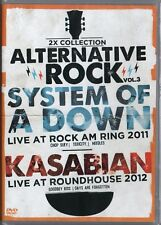 DVD  2 SHOWS  SYSTEM OF A DOWN GERMANY 2011 / KASABIAN LONDON 2012  NEW & SEALED