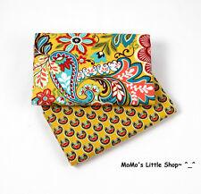 Beautiful Vera Bradley 100% Cotton Fabric (Provencal) —— 2 Matching Fat Quarters
