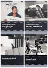 TODESSPIEL RAF TEIL 1 UND 2 + DER OLYMPIA-MORD + DER AUFSTAND / 4 x DVD DIGIPACK