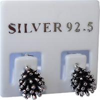 Pair of 925 Sterling Silver Hedgehog Stud Earrings Ear Studs Jewellery Jewelry