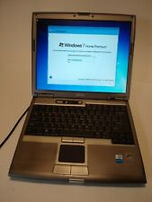 Dell Latitude D610 Laptop Used with Power Cable