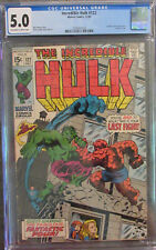 Incredible Hulk #122 CGC 5.0 off-white to white pages