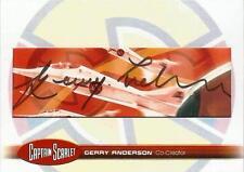 Captain Scarlet Rare Cut Autograph Trading Card GA24 Gerry Anderson