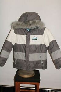 686 Snowboard Girls Large Mannual 5Kmm Insulated hooded Snowboard/snow Jacket