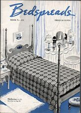 Vintage 1939 Spool Cotton Co. Info Booklet - Bedspreads