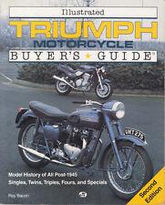 New listing Triumph Motorcycle Book Singles Twins Triples Guide Pre & Unit Bonneville Tr6 +