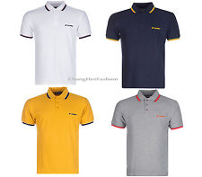 Lotto Polo Shirt Mens Classic Style Sport Performance Cotton Short Sleeve New