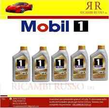 MOBIL 1 NEW LIFE 0W-40 0W40 5 LT LITRES SYNTHÉTIQUE VOITURE HUILE PORSCHE BMW VW