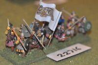 25mm dark ages / viking - spearmen 12 figs inf - inf (22716)
