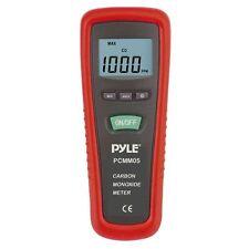 NEW Pyle - PCMM05 - Carbon Monoxide Meter LCD Display Built-in Alarm Sounds