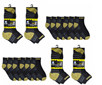 12PAIRS OF MEN'S WORK SOCKS TRAINER CREW ULTIMATE WORK BOOTS SOCK, UK 6-11