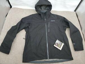Mens XL Black Patagonia Calcite GTX Jacket Gore-Tex $249 84986 Rain Wind Proof!