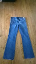 AMERICAN EAGLE * Womens Stretch ORIGINAL BOOT Blue Jeans * Size 4 R