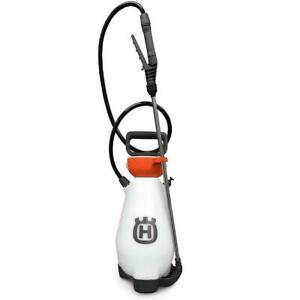 """Husqvarna 596766101 2 Gallon Commercial Grade Handheld Sprayer w/ 50"""" PVC Hose"""