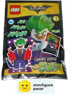 sh354 The Lego Batman Movie 211702 - Joker foil pack Minifigure - New