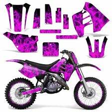 Graphic Kit Suzuki RM 125 RM 250 Dirt Bike Decal MX Motocross Deco 90-92 ICE PNK