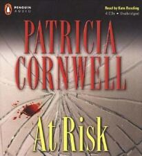 AT RISK PATRICIA CORNWELL COMPACT DISC AUDIO BOOK MIP 4 CD Read Kate Reading New