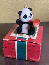 1985 Trumpet Panda Hallmark Keepsake Christmas Ornament Free Shipping