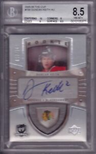2005-06 The Cup Duncan Keith RC Rookie Autograph