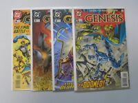 Genesis (1997 DC) Set:#1-4, 8.0/VF (1997)