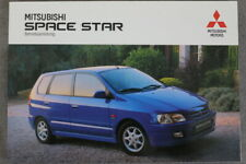 """Mitsubishi Space Star Bedienungsanleitung """"1998"""" Betriebsanleitung"""