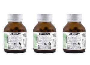 LIQUISET 3 X125 Cpr GASTRITE ACIDITA BRUCIORE DI STOMACO REFLUSSO Mineralizzante
