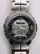 Men's Casio AQF-100 TIDE Watch (4335) NEW BATTERY! Mint!