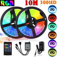 LED Strip Light RGB 5050 SMD 2835 Flexible Ribbon RGB Stripe 5M 10M Full