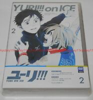 New Yuri on Ice Vol.2 First Limited Edition DVD Vinyl Pouch Booklet Japan F/S