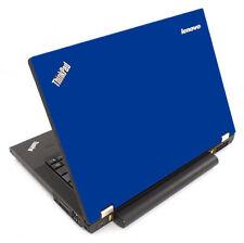 BLUE Vinyl Lid Skin Cover Decal fits IBM Lenovo ThinkPad T440P Laptop