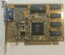 SIS 6326 8MB PCI Graphics Card- C6326PE