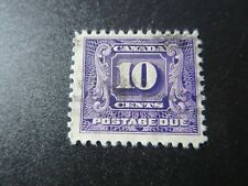 """CANADA STAMPS USED #J10 1930-2 """"2nd ISSUE POSTAGE DUE"""" .10c NH"""