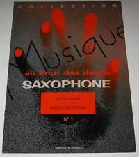 Partition sheet music SAXOPHONE : Air de Valse N° 1 * Musique au Bout des Doigts