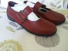 Padders 100% Leather Mary Janes Shoes for Women