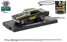 M20 11228 43 M2 MACHINES AUTO DRIVERS 1967 Chevrolet Nova SS  Gloss Black 1:64