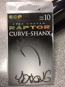 ESP Raptor Hooks, barbed or barbless, various types, Free Postage