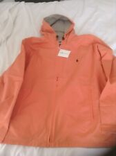 POLO GOLF BY RALPH LAUREN MENS REVERSiBLE JACKET ORANGE/.BEIGE SIZE XXL RRP £166