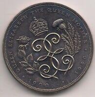 1990-£5 coin-QUEEN MOTHER.