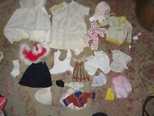 2) Vintage Doll Clothing Lot.17 Items.Small To Medium Assortmemnt