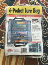 Boone Bait 6 Pocket Lure Bags to Store, Protect and Organize Lures - New