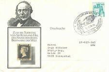 BRD 1979 40 Pfg. Burgen u. Schlösser Privat-Sonder-GU (Papier Weiß) ROWLAND HILL