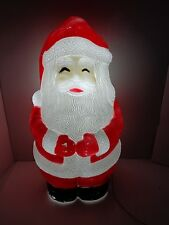 """Union Products #6470 Jolly Santa 33"""" Christmas Blow Mold Lighted! # 1"""